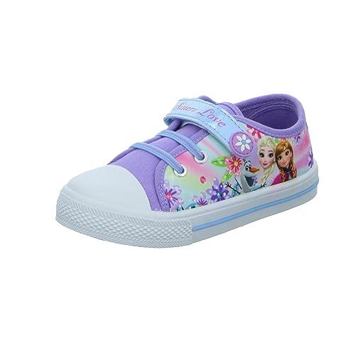 Disney Frozen - Mocasines Para Niña, Color Rojo, Talla 27.0: Amazon.es: Zapatos y complementos