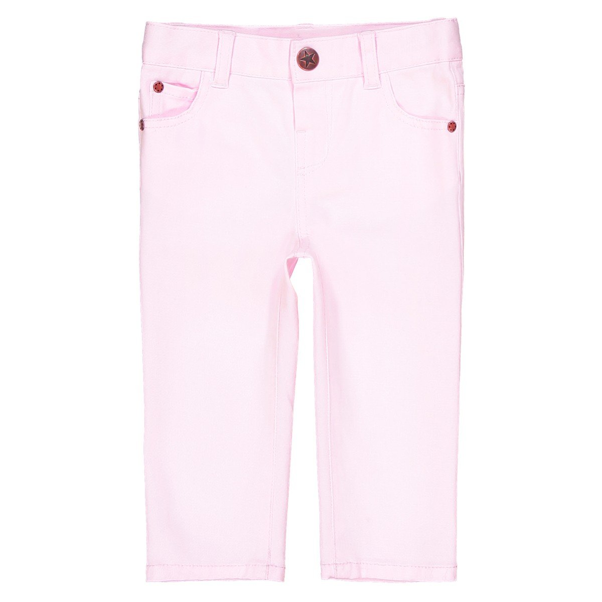 1 Month-3 Years La Redoute Collections Big Girls Straight Trousers