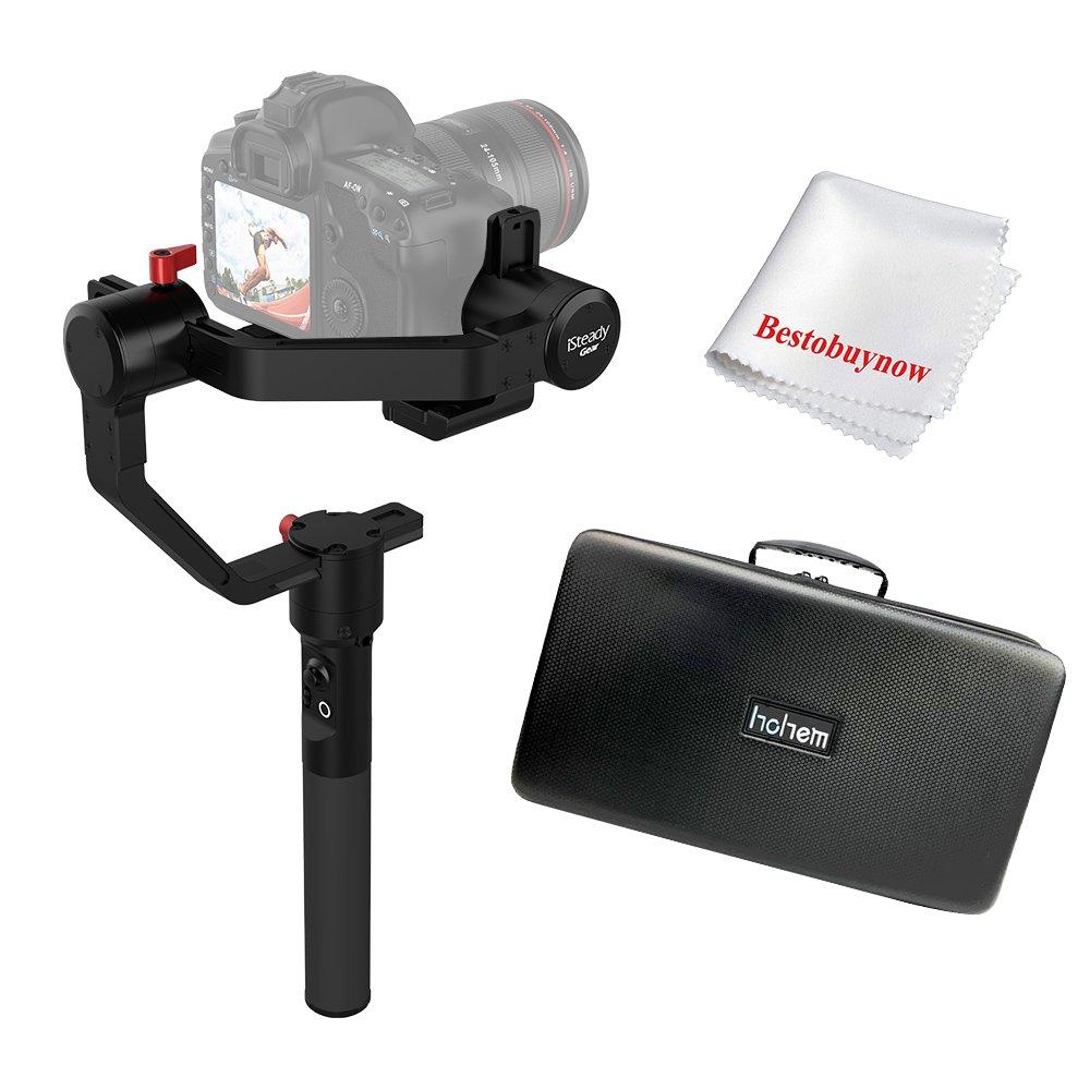 hohem iSteadyギア3軸ハンドヘルド安定ジンバルfor DSLR and MirrolessカメラMaxペイロード2.5 KG 12時間実行時モーションTimelapseと内蔵Bluetooth   B07F8QWSV3