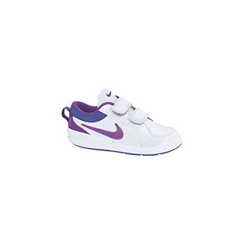 Nike Pico 4 (PSV), Zapatillas de Tenis para Niñas, White/Laser Purple VLT Force, 12.5C: Amazon.es: Zapatos y complementos
