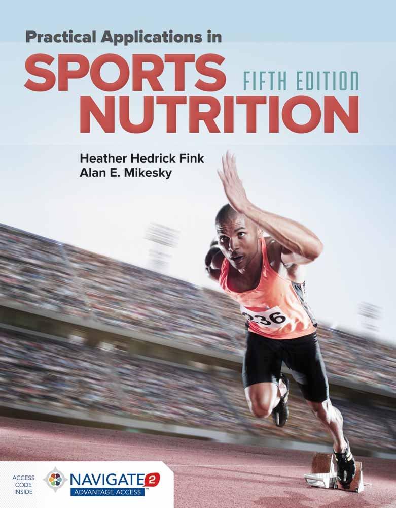 Practical Applications in Sports Nutrition by Jones & Bartlett Learning