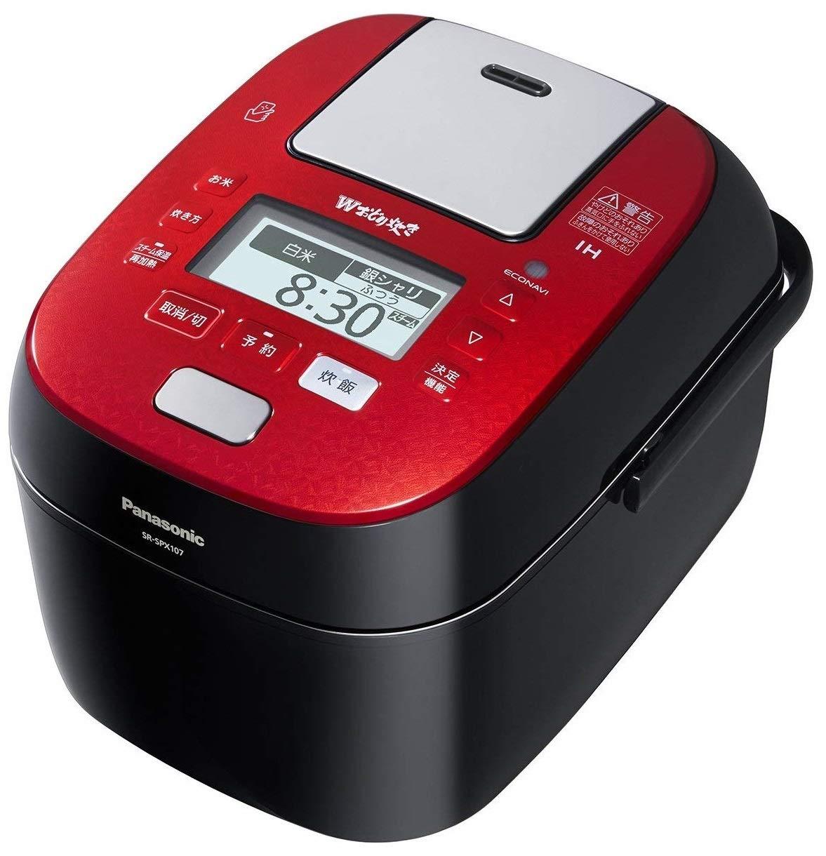 Panasonic スチーム&可変圧力IHジャー炊飯器 SR-SPX107