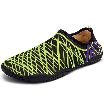 f385e720c5c62 Amazon.com | Zegoo Men Eco-Friendly Aqua Water Shoes for Surfing ...