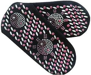 Heated Sock -MOMU-Men Women Self Heating Therapy Magnetic Socks Massage Anti-Freezing Foot Warmer