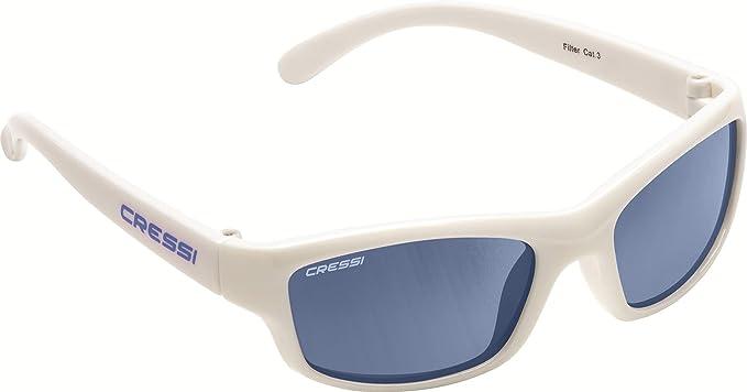 Cressi Kinder Yogi Kids Sonnenbrille, Blau/Linsen Grau, 2/6 Jahre
