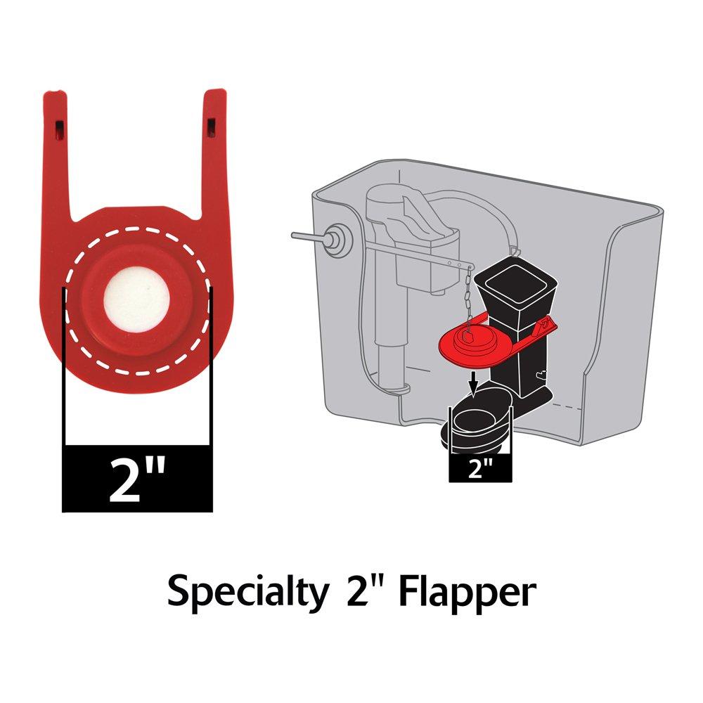 Korky 2010BP Rialto Float Flapper for Kohler Toilet Repairs