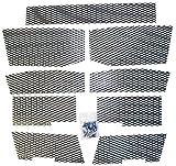 SCREEN KIT POLARIS BLACK, Manufacturer: DUDECK, Manufacturer Part Number: P3-BLACK-AD, Stock Photo - Actual parts may va