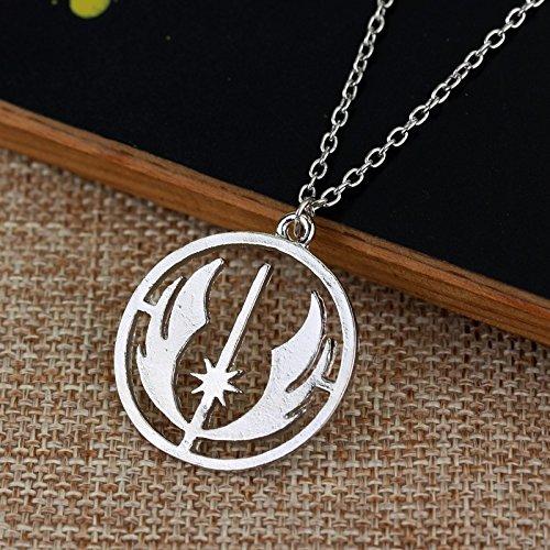 A2-5-XL-172 Fashion Jewelry ~ Jedi Order Pendant Necklace