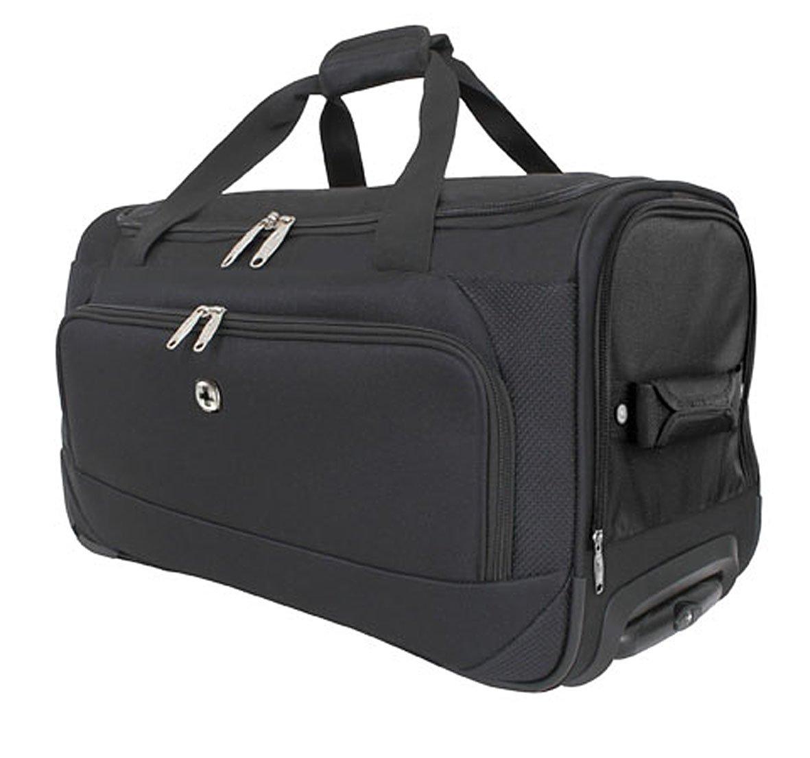 9ba09a9037d25 Wenger Reisetasche mit zwei Rollen in Schwarz ++