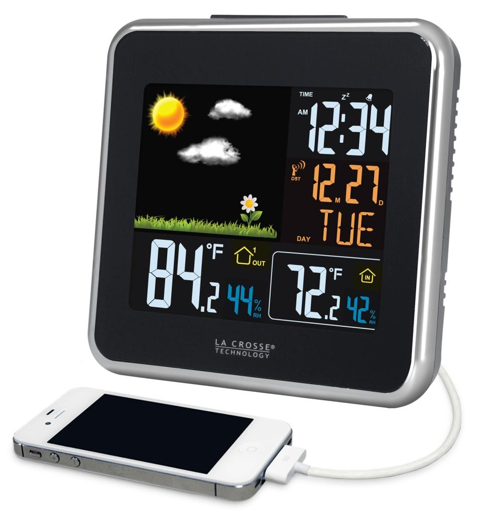 La Crosse Technology 308-146 Atomic Wireless Color Forecast Station