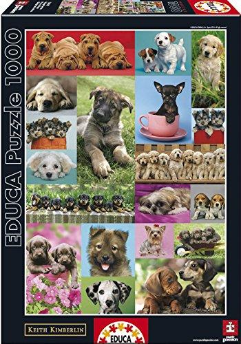 Educa 14441 1000 Cuccioli Collage