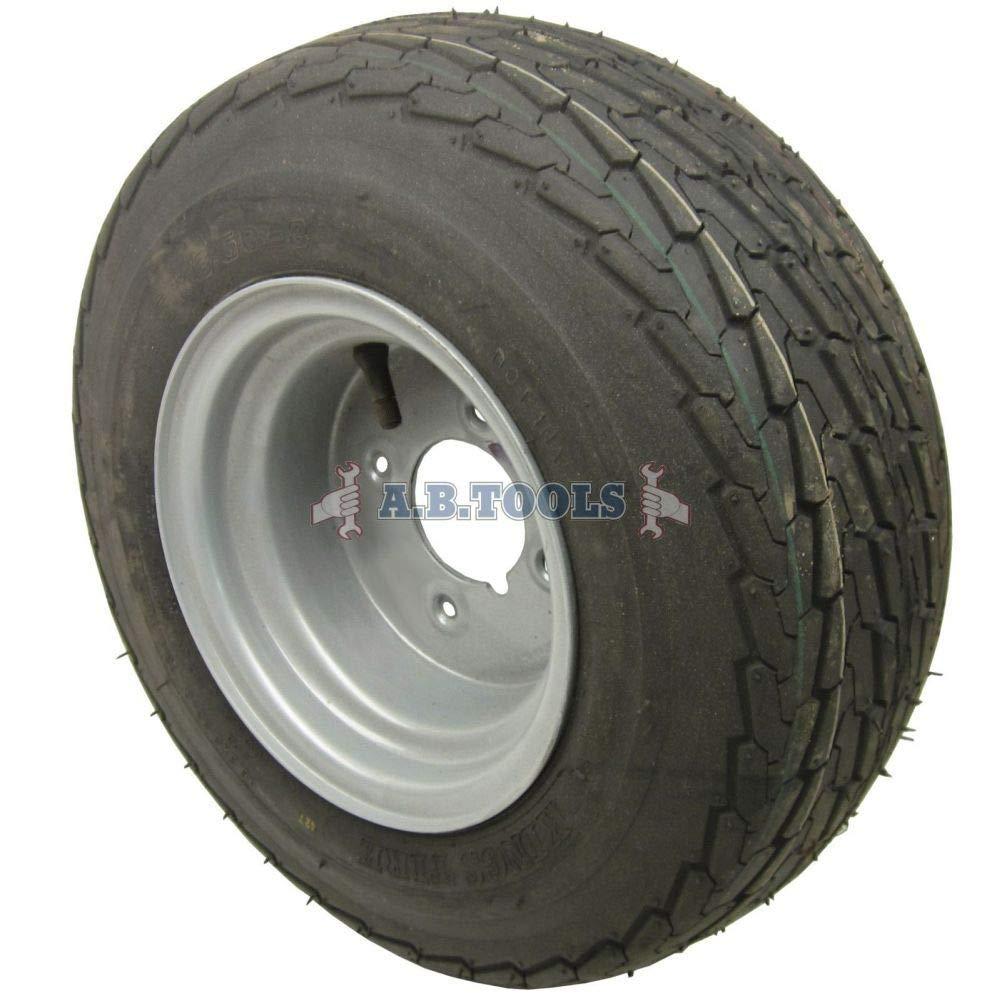 Drillman TRSP13 - Rueda y neumático para remolque (20,5 x 8,0-10 ...