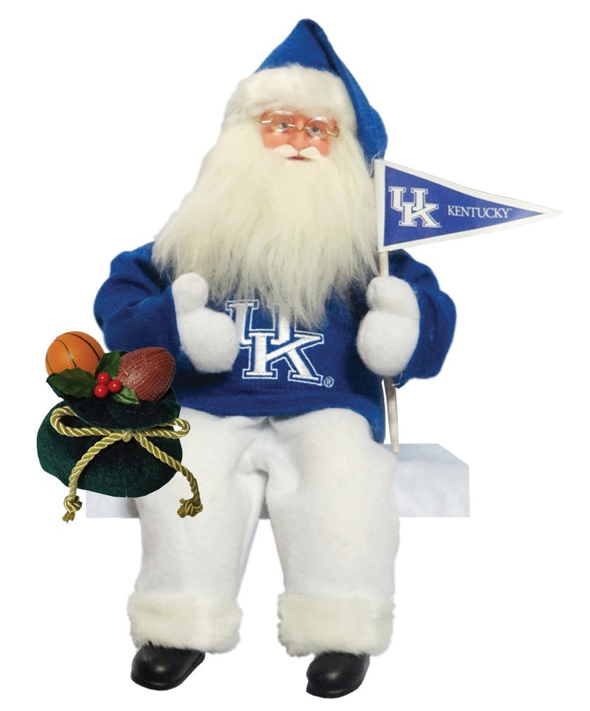 Santa's Workshop KYW040 Kentucky Musical/Animated Figurine, 15'' ,,