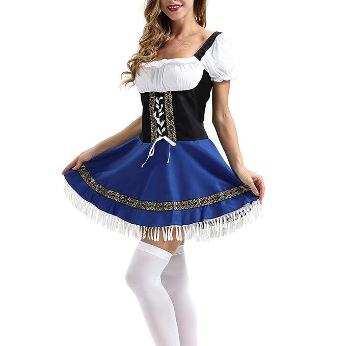 Goosun Dirndl Traje Tradicional de Tirolesa Vestido Moda Alemana ...