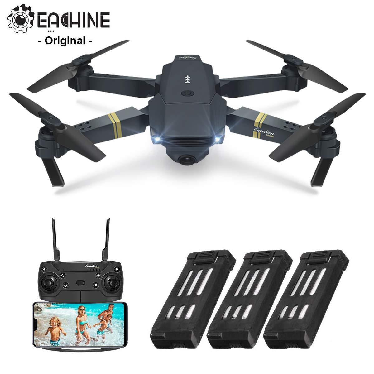 EACHINE E58 Drone con Camara HD 2.0MP 720p Wide Angel Drone con ...