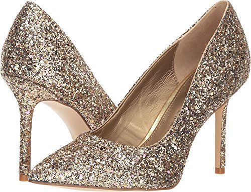 Katy Perry Women's The Sissy Gold Chunky Glitter 11 M US