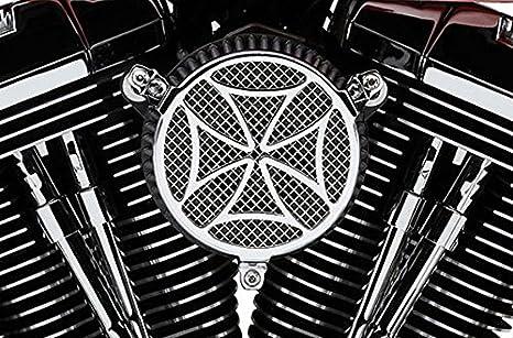Kit Filtro Aria Cobra Cross Cromato x Moto Harley Davidson Sportster XL 04-15