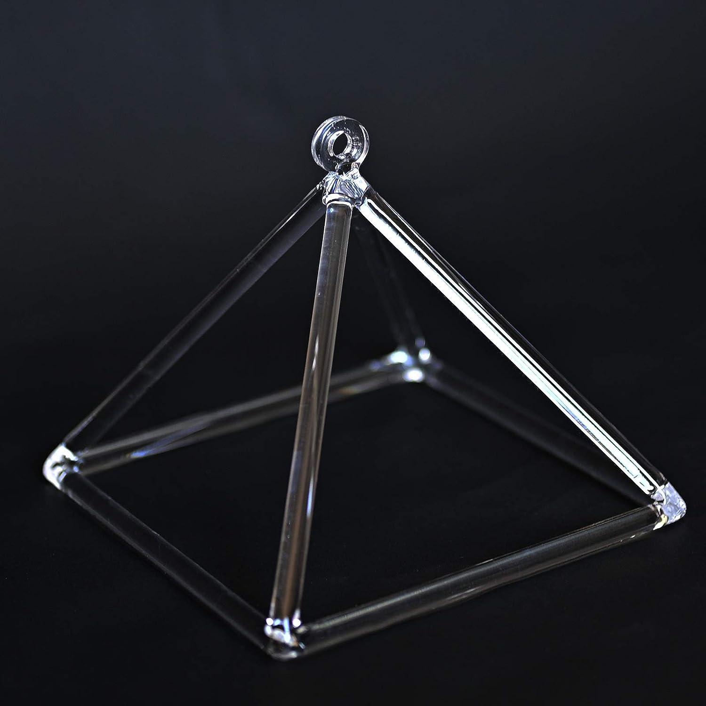 lienzo Sonido curaci/ón m/úsica instrumento perfecto cristal de cuarzo tibetano Pyramid 8/
