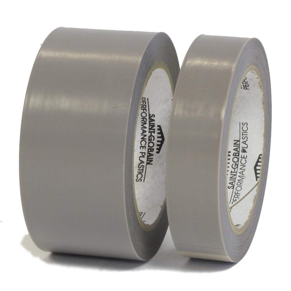 1//2 inch x 36 yards 2 mil w// Silicone Adhesive Tape Skived PTFE Teflon