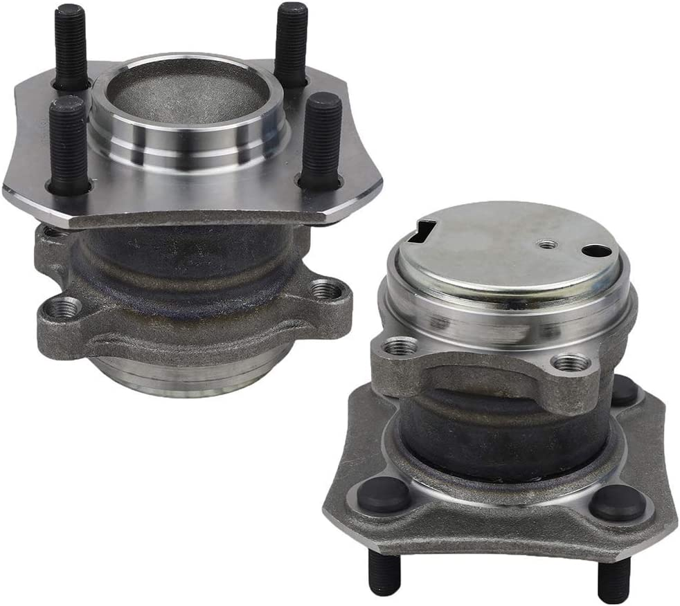 Bodeman Pair 2 Rear Wheel Hub and Bearing Assembly w//ABS for 2007-2012 Nissan Sentra 2.0L and 4-Wheel ABS ONLY