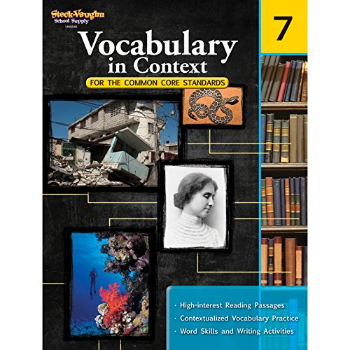 Vocabulary in Context for the Common Core Standards: Reproducible Grade 7