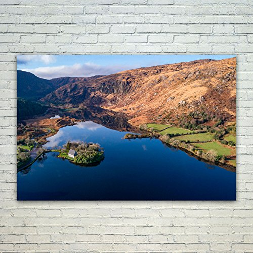 Wall Inlet Frame - Westlake Art Poster Print Wall Art - Tarn Lake - Modern Picture Photography Home Decor Office Birthday Gift - Unframed - 4x6in