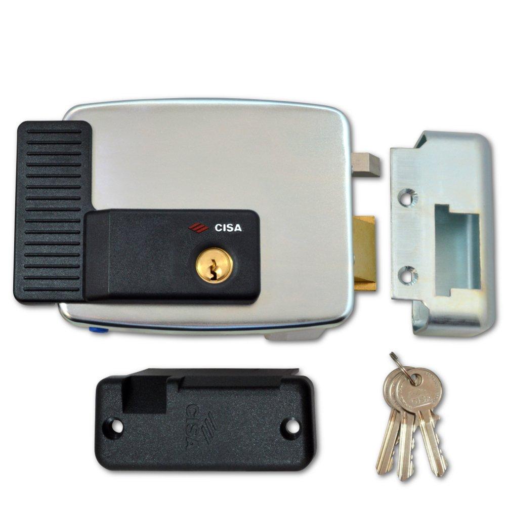 Cerradura eléctrica Cisa 11921-60-3. Serr El Appl CIL Fis.: Amazon.es: Bricolaje y herramientas