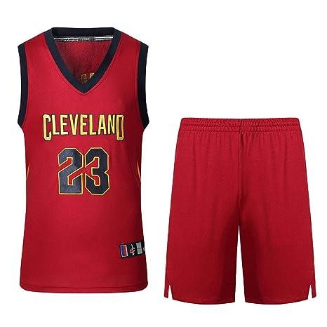 Niños Niño Hombres # 23 Ropa de Baloncesto Bordada Camisa de ...