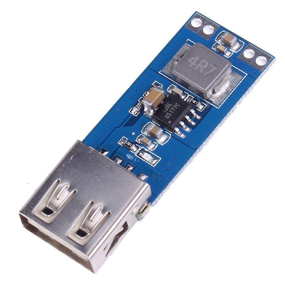 GAOHOU 3V 3, 3 V 3, 7 V 4, 2 V zu 5 V 1A 2A USB Boost Step up stromversorgung Modul YYLF0069