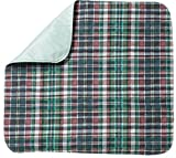 Head2Toe Plaid Washable Bed Pad / Reusable Incontinence Underpad 36x42 - Perfect For Children And Adults Wholesale Incontinence Protection