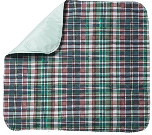 Head2Toe Plaid Washable Bed Pad/Reusable Incontinence Underpad 36x42 - Perfect for Children and Adults Wholesale Incontinence Protection