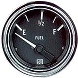Stewart Warner 82303 Deluxe 2-1/16' Fuel Level Electric Gauge