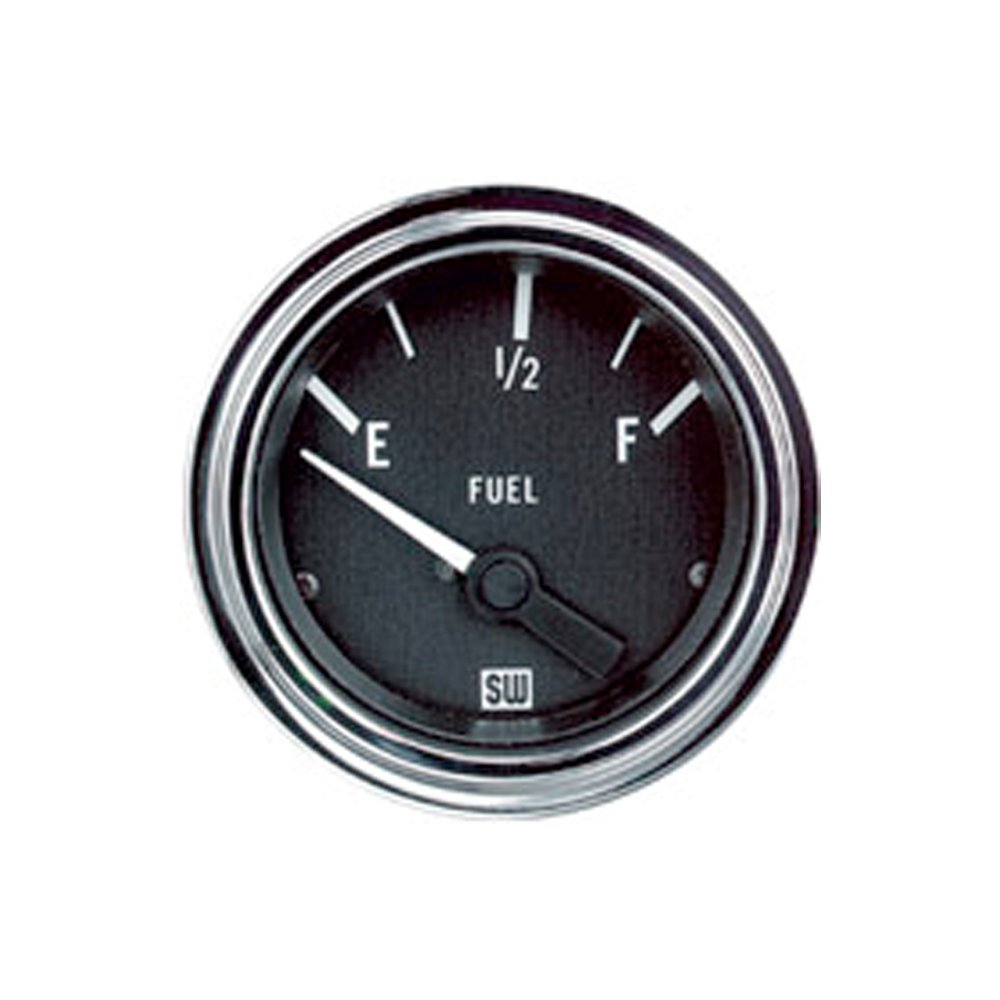 Stewart Warner 82303 Deluxe 2-1/16' Fuel Level Electric Gauge