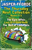 Front cover for the book The Well of Lost Plots by Jasper Fforde