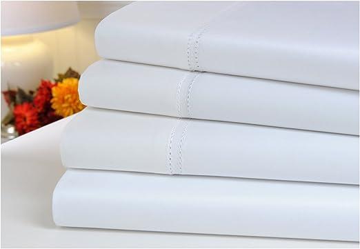 mellanni – Juego de sábanas para cama 100% algodón egipcio 1000 ...