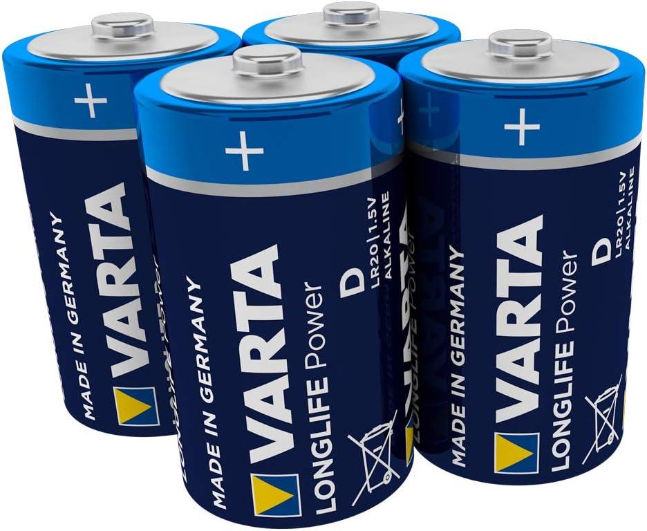 Varta Longlife Power D Mono Lr20 Batterie Alkaline Elektronik
