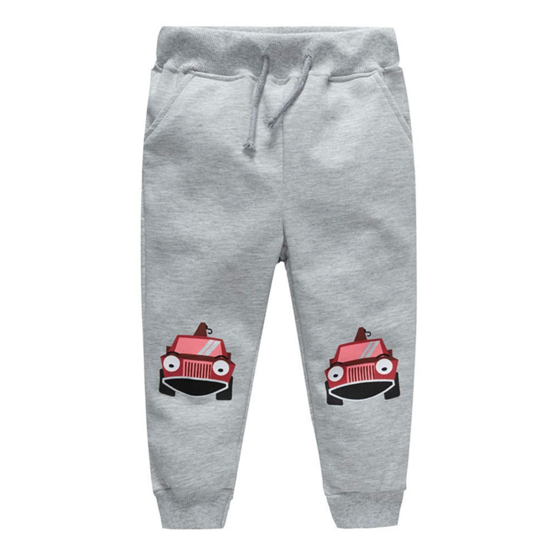 MRxcff - Pantalones de chándal para niños con Estampado de Dibujos ...