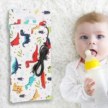 Calentador de biberones USB para bebés, Funda para biberones de ...