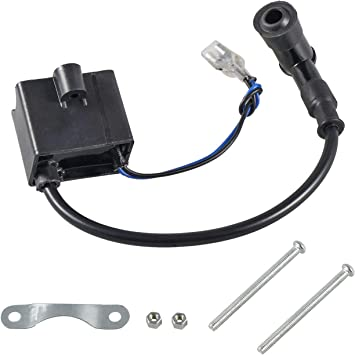 CDI Ignition Coil For 49cc 50-80cc 2-Stroke Engine Motorized Bike Bicycle