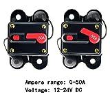 ANJOSHI 50amp Circuit Breaker Manual Reset Home