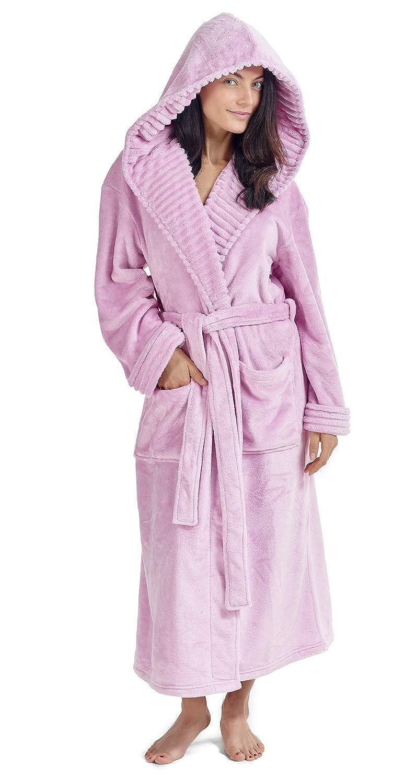 Vestidos de Mujer Bata de pingüino Búho Vestidos de Lujo para Mujer Batas de Felpa Novedad Animal Hood Super Soft Touch Fleece Batas de baño para Ella!: