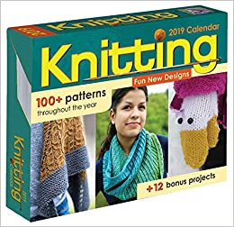 Knitting 2019 Day To Day Calendar Susan Ripley 0050837420496
