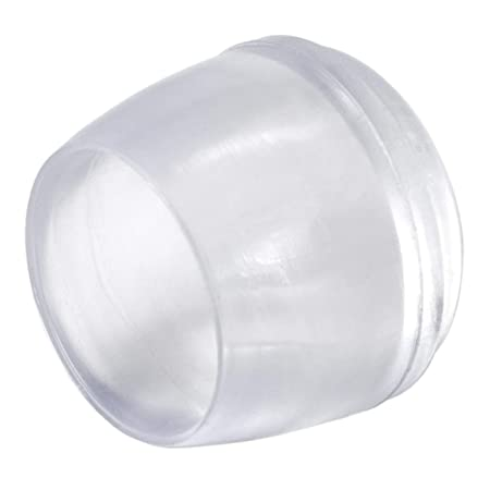 Gommini Per Sedie Tubolari.16 X Sedia Gamba Tappi O 18 Mm Rotondo Trasparente