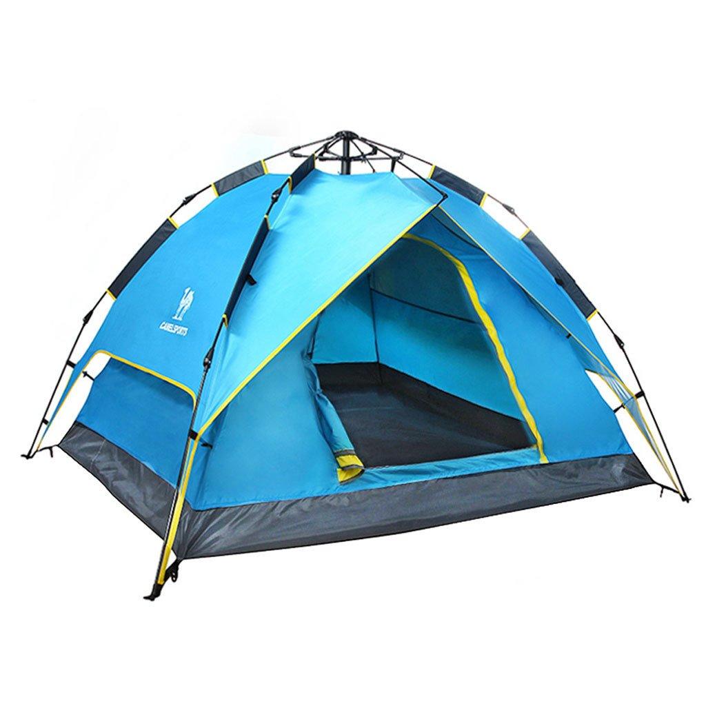 Automatische Außenzelt 3-4 Personen Doppelrainproof Zeltkampieren Jahreszeiten