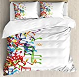 Best Harmony Pc Brands - Bedding 4 Piece Colorful Trippy Art Style Music Review