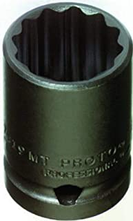 "product image for Stanley Proto J7418MT 1/2"" Drive Thin Wall Impact Socket, 18mm, 12 Point"