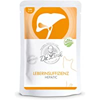 Dr. Link Spezial-Diät Leberinsuffizienz | Hepatic |16 x 85 g | Nassfutter für Katzen