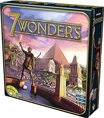 Asmodee 7 Wonders - Juego de Mesa (en inglés): Amazon.es: Juguetes ...