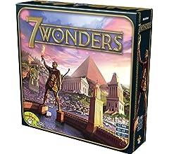 Asmodee 7 Wonders - Juego de Mesa (en inglés): Amazon.es: Juguetes y juegos
