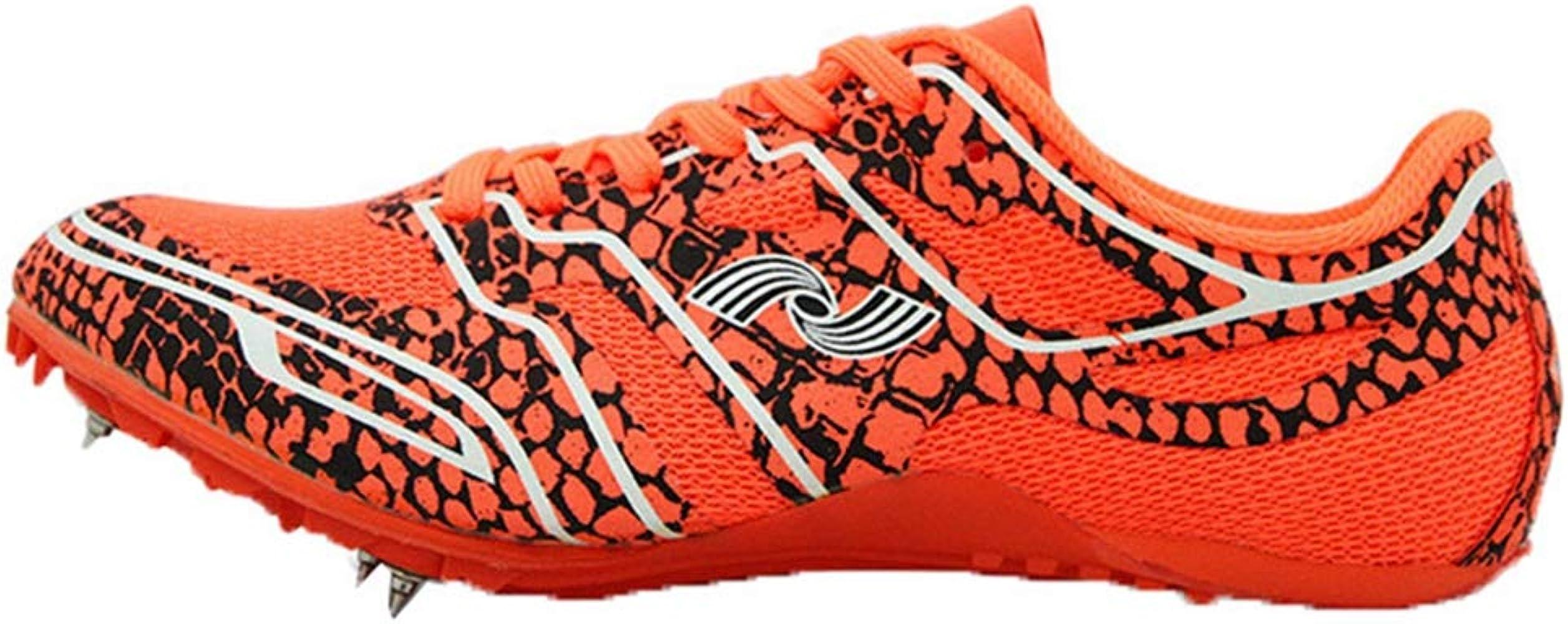 Pistas de Atletismo Unisex Malla Transpirable de Color Mixto Low Top Profesión Track Athletic Distance Racing Zapatillas de Running para Adolescentes: Amazon.es: Zapatos y complementos